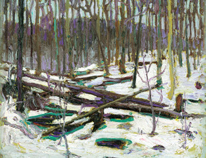 Art Prints of Winter, Algonquin Park by Tom Thomson