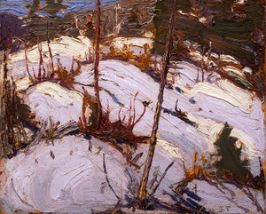 Art Prints of Winter Hillside, Algonquin Park by Tom Thomson