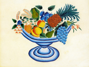 Art Prints of The Blue Compote by an Unknown Artist