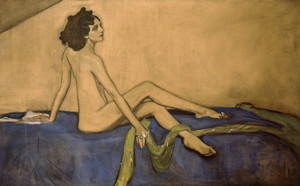 Art Prints of Ida Rubenstein by Valentin Serov