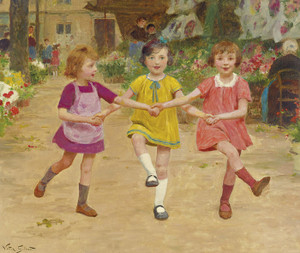 Art Prints of Three Friends by Victor Gabriel Gilbert