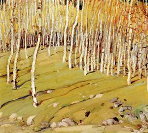 Art Prints of Aspens by Victor Higgins