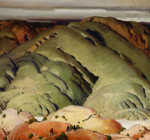 Art Prints of Mountain Forms II by Victor Higgins