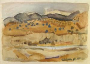 Art Prints of Taos Ranch by Victor Higgins