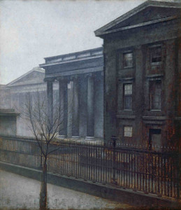 Art Prints of From the British Museum Winter by Vilhelm Hammershoi