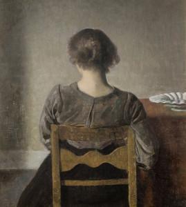 Art Prints of Rest by Vilhelm Hammershoi