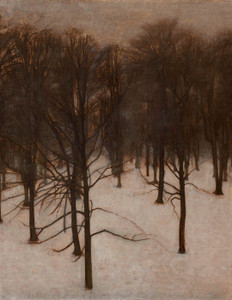 Art Prints of Park in Winter by Vilhelm Hammershoi