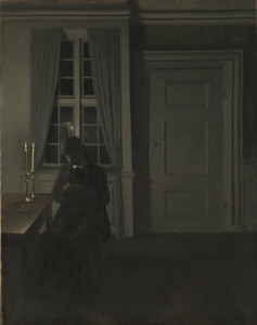 Art Prints of The Collector of Coins by Vilhelm Hammershoi