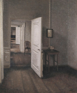 Art Prints of The Four Rooms by Vilhelm Hammershoi