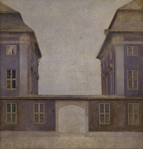 Art Prints of The Buildings of the Asiatic Company by Vilhelm Hammershoi