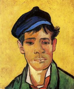Art Prints of Boy with Cap by Vincent Van Gogh