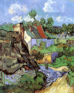 Art Prints of Houses at Auvers by Vincent Van Gogh