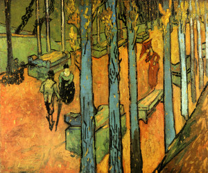 Art Prints of Les Alyscamps by Vincent Van Gogh