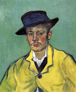 Art Prints of Portrait of Armand Roulin II by Vincent Van Gogh
