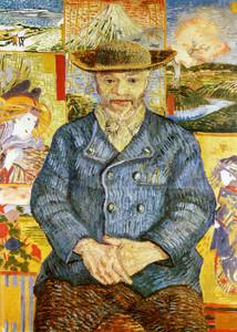 Art Prints of Portrait of Pere Tanguy by Vincent Van Gogh