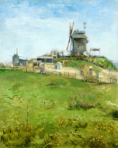 Art Prints of The Moulin du Blute Fin Montmartre by Vincent Van Gogh