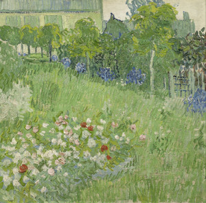 Art Prints of Daubigny's Garden by Vincent Van Gogh