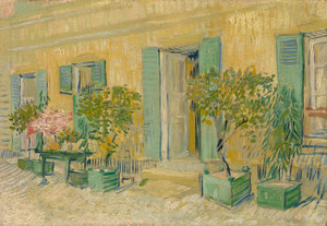 Art Prints of Exterior of a Restaurant in Asnieres by Vincent Van Gogh