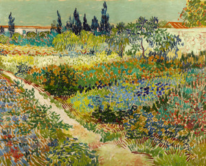 Art Prints of Garden at Arles by Vincent Van Gogh