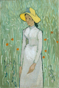 Art Prints of Girl in White by Vincent Van Gogh