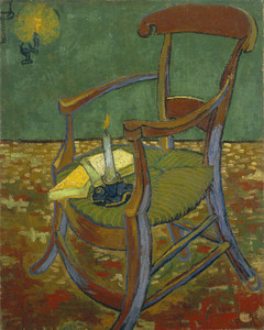 Art Prints of Gauguin's Chair by Vincent Van Gogh