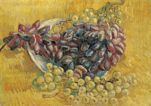 Art Prints of Grapes by Vincent Van Gogh