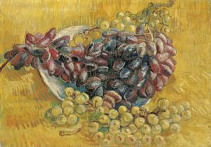 Art Prints of Grapes by Vincent Van Gogh
