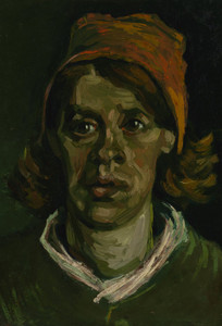 Art Prints of Head of a Woman III by Vincent Van Gogh