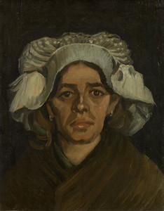 Art Prints of Head of a Woman by Vincent Van Gogh