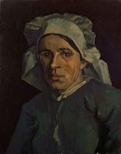 Art Prints of Head of a Woman II by Vincent Van Gogh