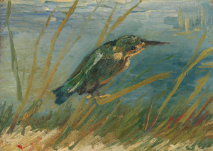 Art Prints of Kingfisher by the Waterside by Vincent Van Gogh