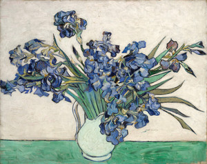 Art Prints of Irises, 1890 by Vincent Van Gogh