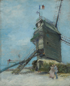 Art Prints of Le Moulin de la Galette by Vincent Van Gogh