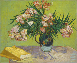 Art Prints of Oleanders by Vincent Van Gogh