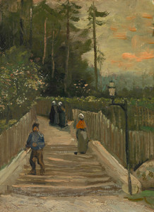Art Prints of Path in Montmartre by Vincent Van Gogh