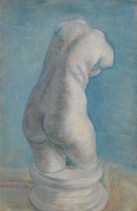 Art Prints of Plaster Cast of Woman's Torso III by Vincent Van Gogh