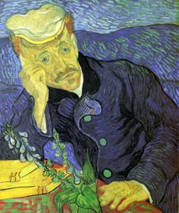 Art Prints of Portrait du Dr. Gachet by Vincent Van Gogh