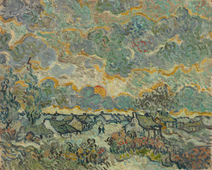 Art Prints of Reminiscence of Brabant by Vincent Van Gogh