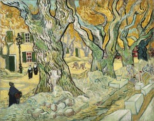Art Prints of Road Menders by Vincent Van Gogh
