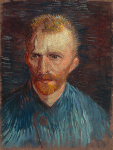Art Prints of Self Portrait VI, 1887 by Vincent Van Gogh