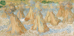 Art Prints of Sheaves of Wheat, 1890 by Vincent Van Gogh