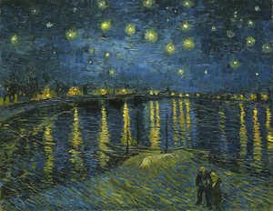 Art Prints of Starry Night over the Rhone by Vincent Van Gogh
