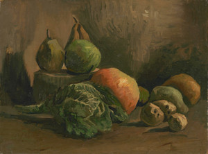 Art Prints of Still Life with Vegetables and Fruit by Vincent Van Gogh