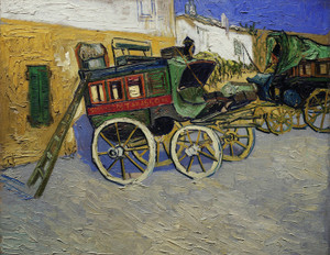Art Prints of Tarascon Stagecoach by Vincent Van Gogh