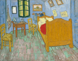 Art Prints of The Bedroom II by Vincent Van Gogh
