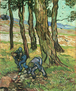 Art Prints of The Diggers by Vincent Van Gogh