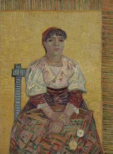 Art Prints of The Italian Woman by Vincent Van Gogh