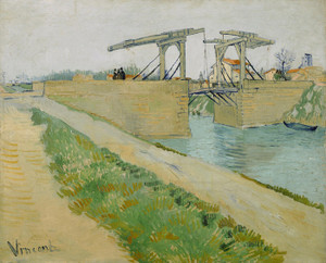 Art Prints of The Langlois Bridge at Arles, 1888 by Vincent Van Gogh