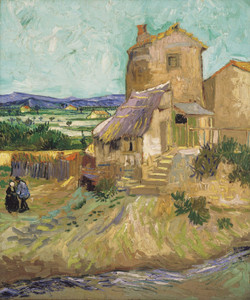 Art Prints of The Old Mill by Vincent Van Gogh