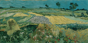 Art Prints of The Plain of Auvers by Vincent Van Gogh